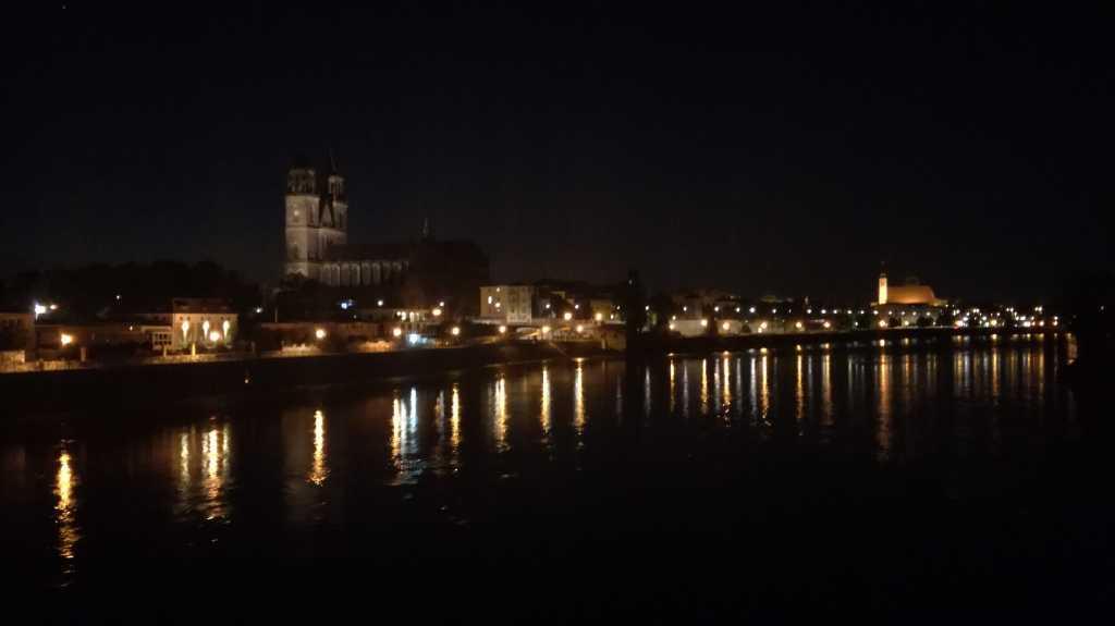 Blick von der alten Hebebrücke zum Dom |Johannes Ulrich Gehrke