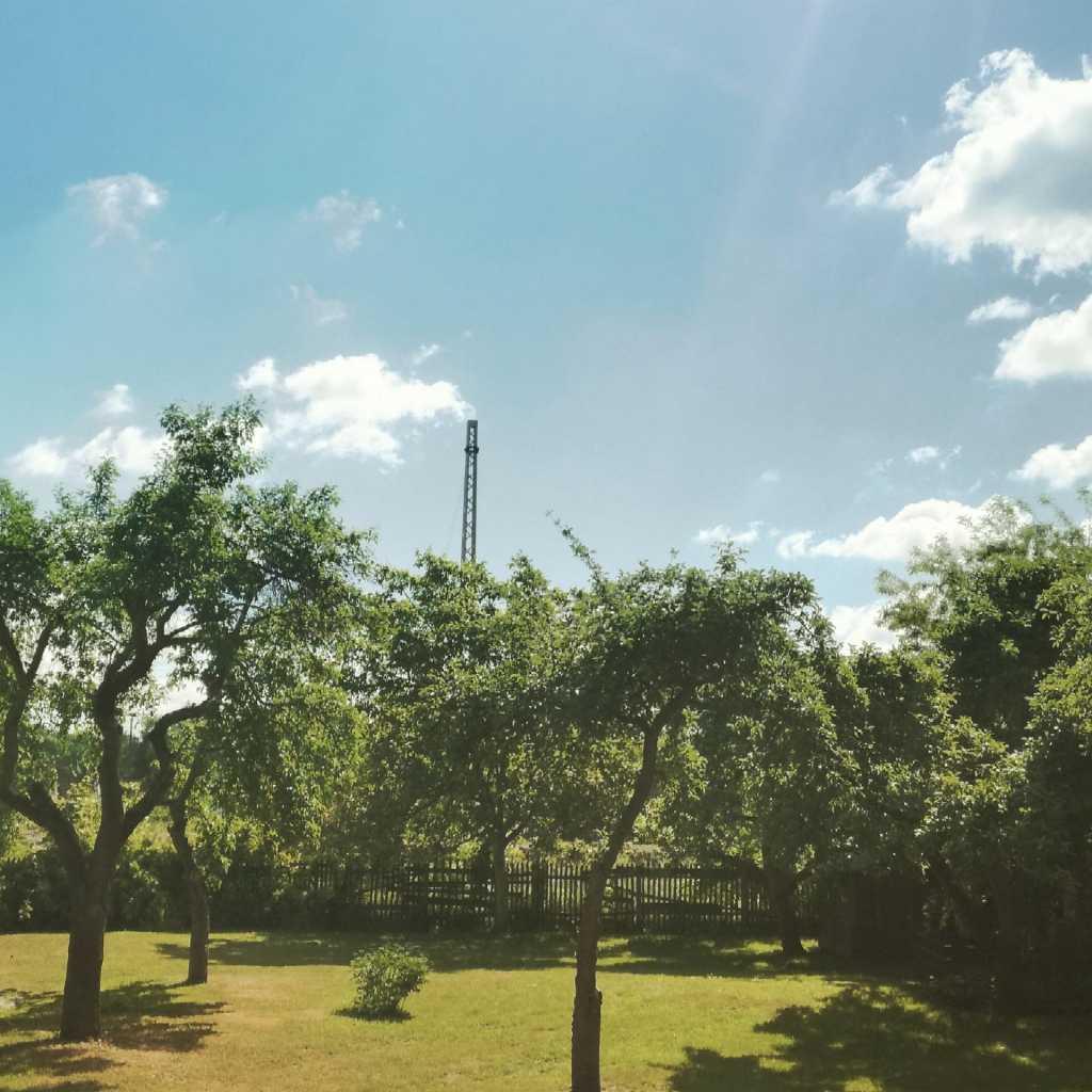 Filter-Foto bei super Sonnenschein zu Christi-Himmelfahrt |Johannes Ulrich Gehrke