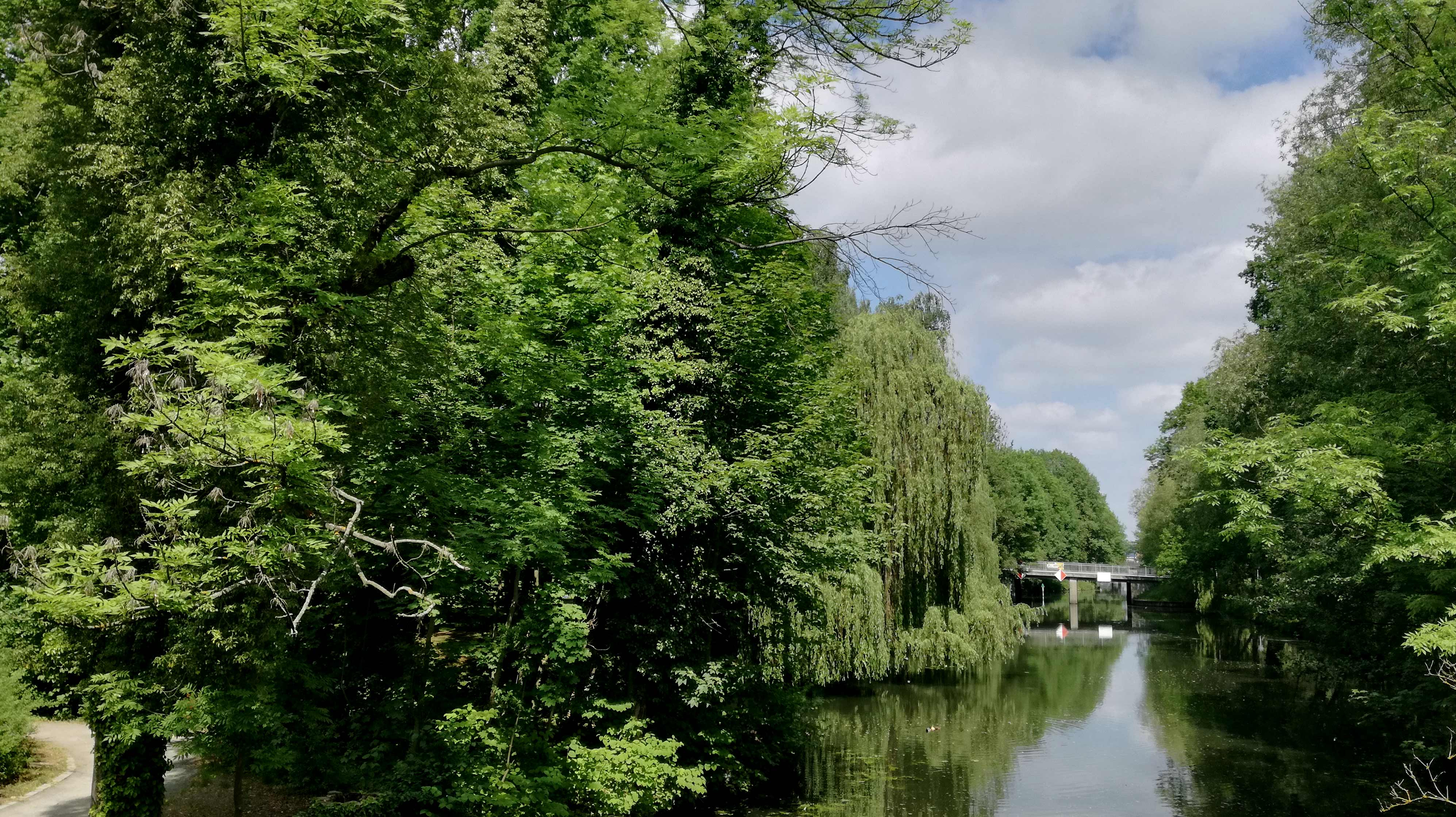 Blick gen Berlin: Nottekanal Richtung Hafen Niederlehme |Johannes Ulrich Gehrke | Blog