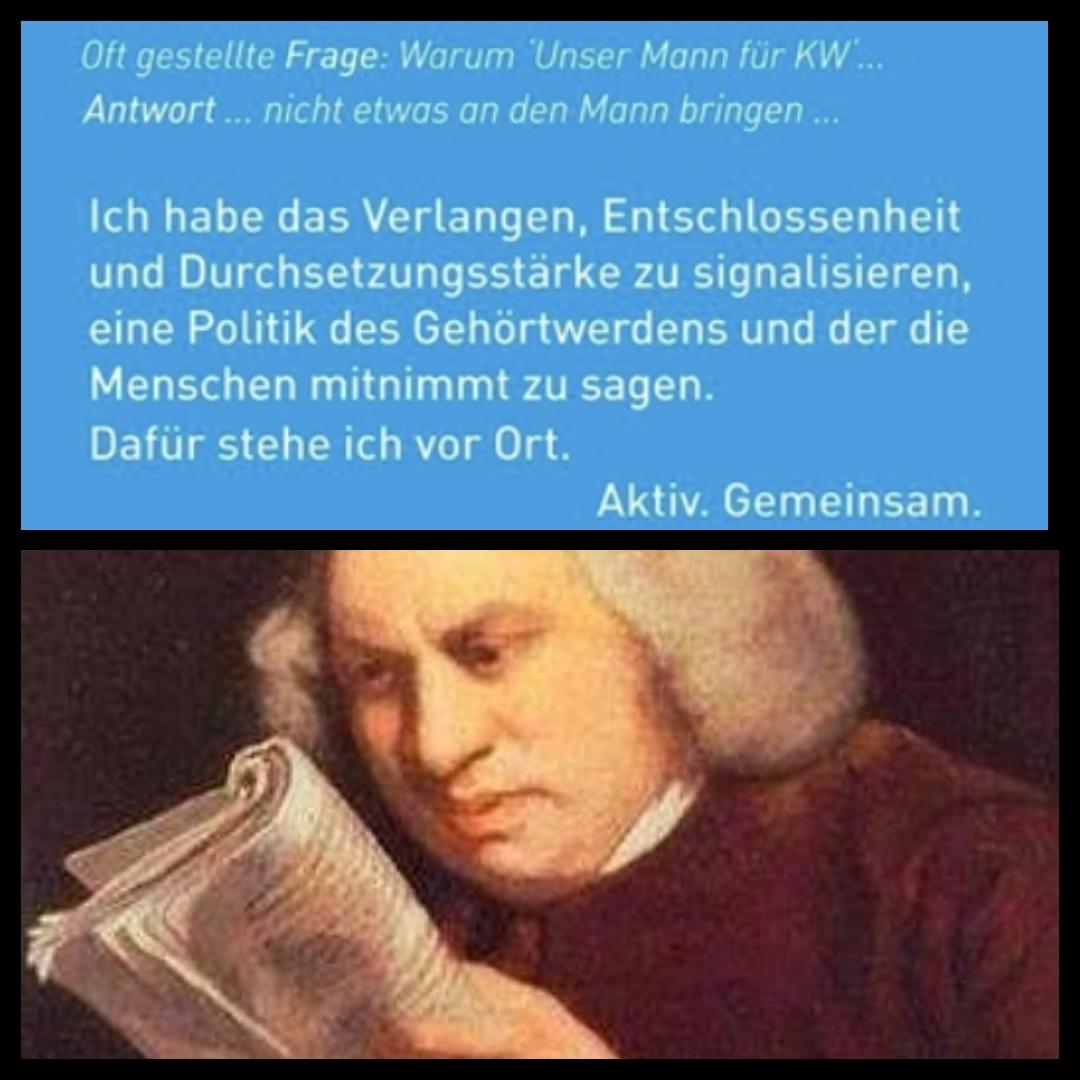 Mein Gesicht Wenn (MGW) ich probiere den Satz zu verstehen |Johannes Ulrich Gehrke