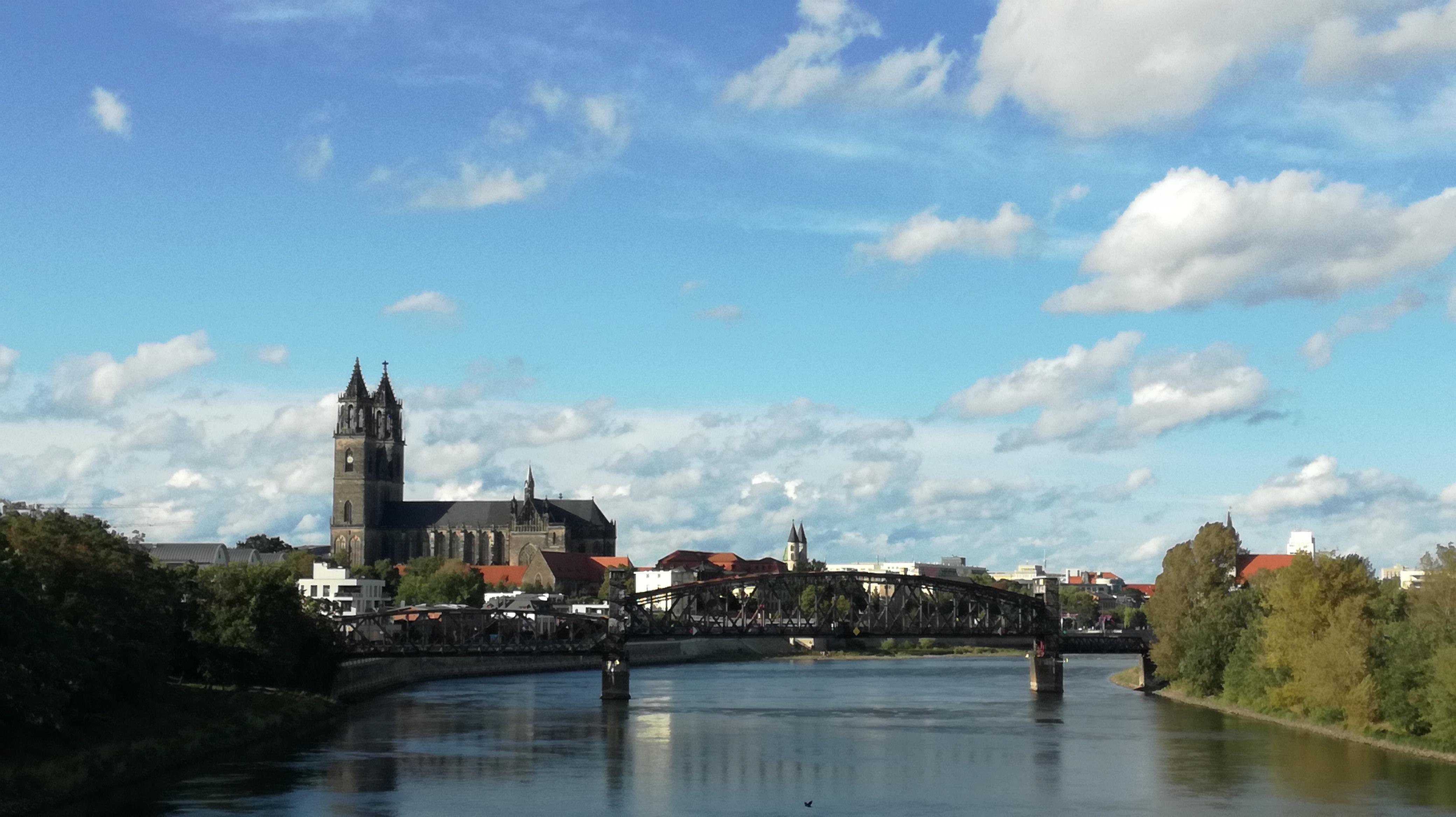 Blick auf Magdeburg |Johannes Ulrich Gehrke