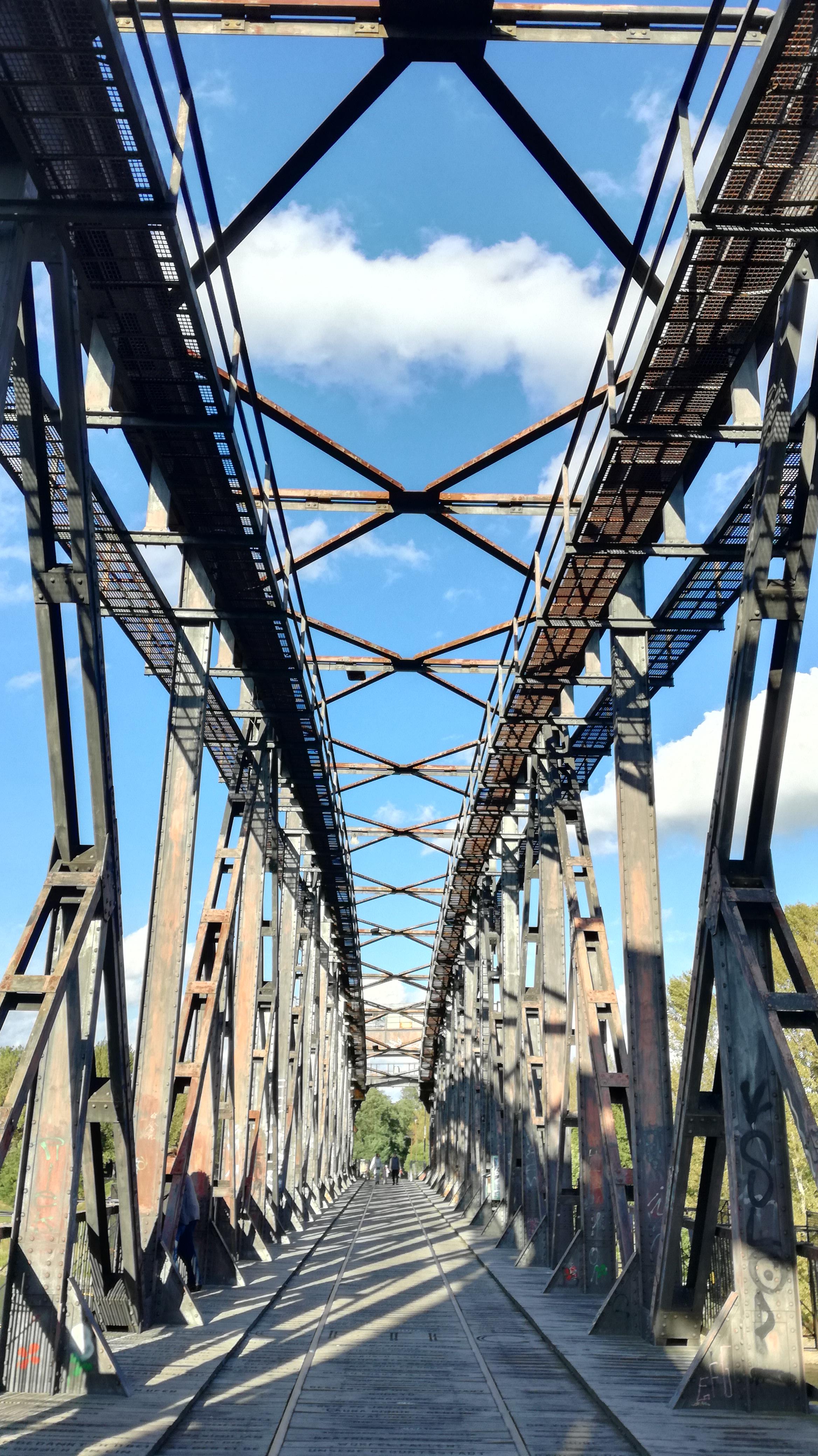 Die alte Eisenbahn-Heberbrücke ist jetzt ein Denkmal |Johannes Ulrich Gehrke