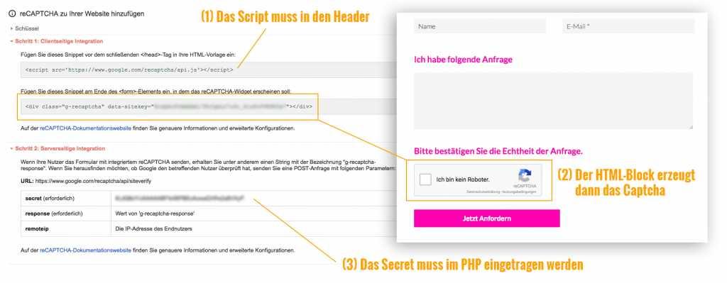 Google Captcha mit PHP als Spam-Schutz für Formulare nutzen |Johannes Ulrich Gehrke