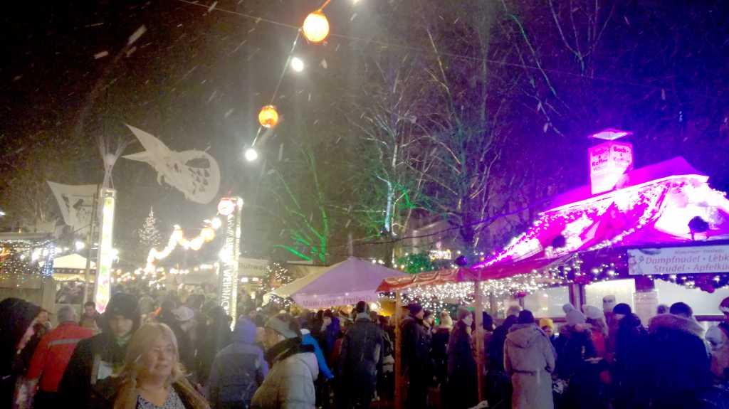 Glühweinmarkt an der Münchner Freiheit |Johannes Ulrich Gehrke