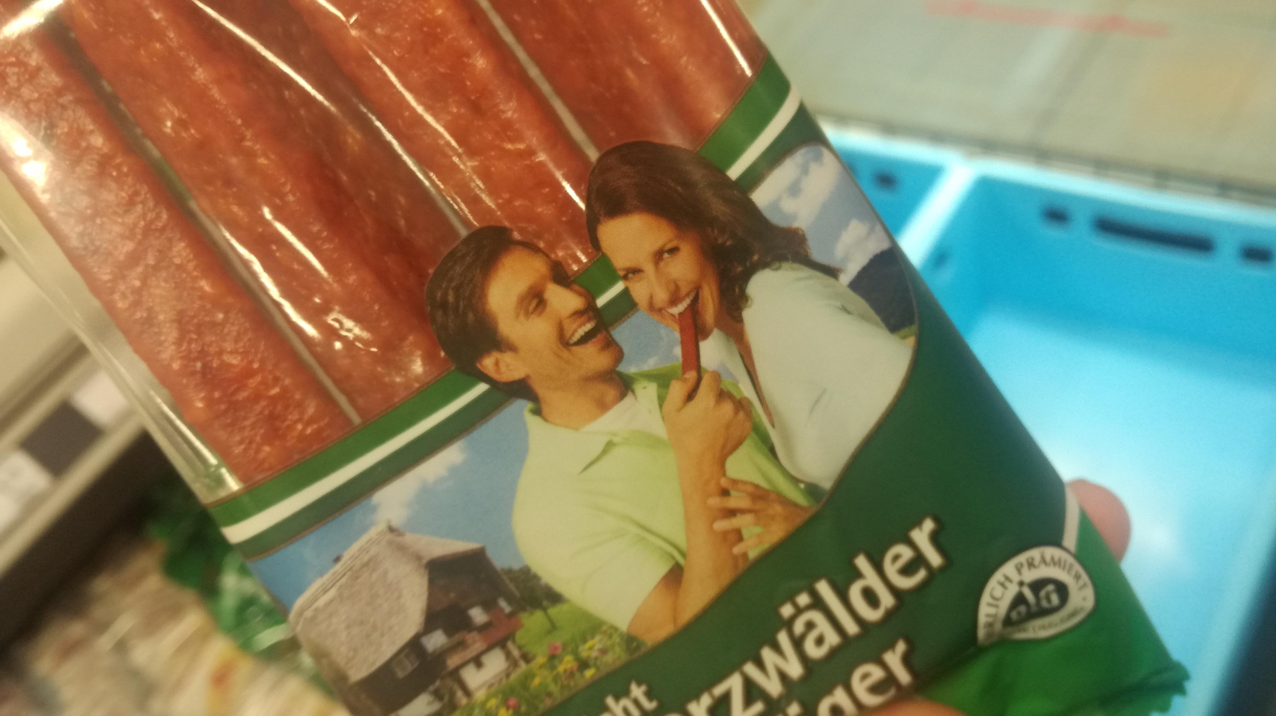 Flirtive Wurst zum Mitlachen |Johannes Ulrich Gehrke