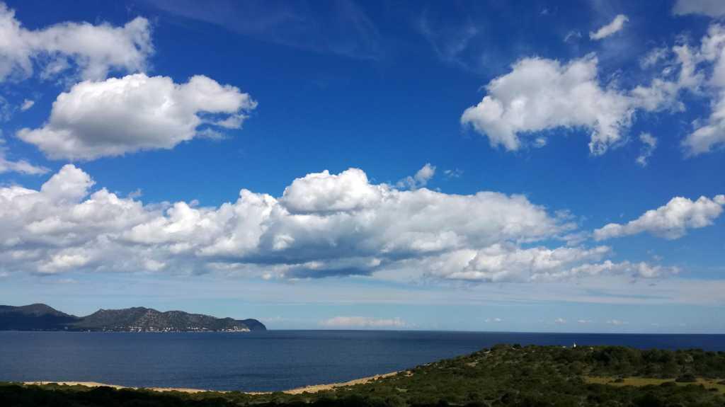 Blick Richtung Cap de Sol von Castillo aus |Johannes Ulrich Gehrke