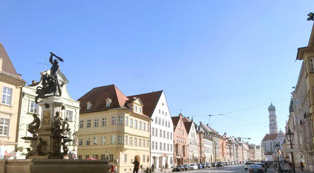 Max(imilian) Straße, Augsburg |Johannes Ulrich Gehrke