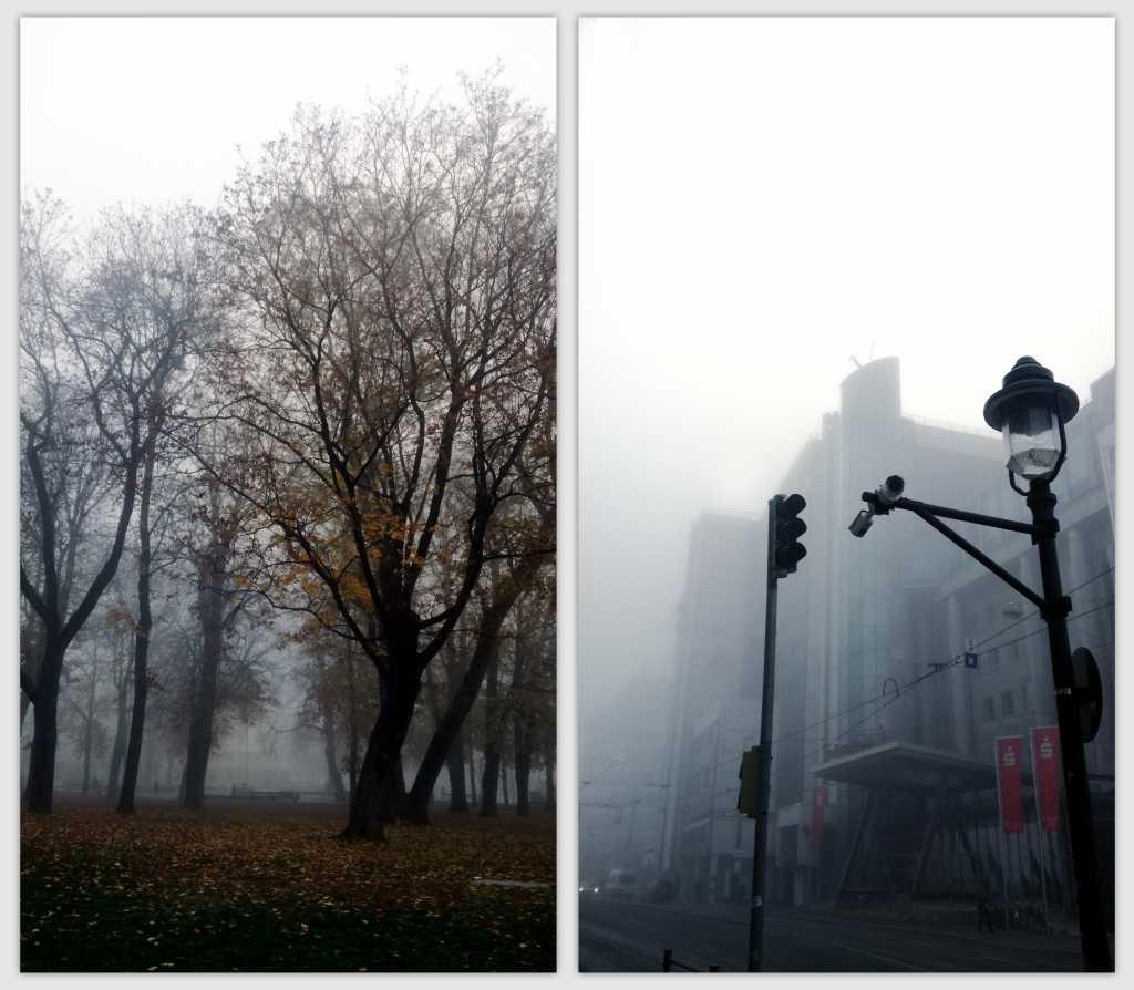 Augsburg im Nebel |Johannes Ulrich Gehrke