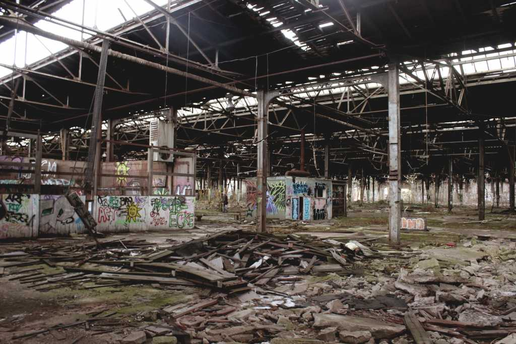 Perspektive in die Halle |Johannes Ulrich Gehrke