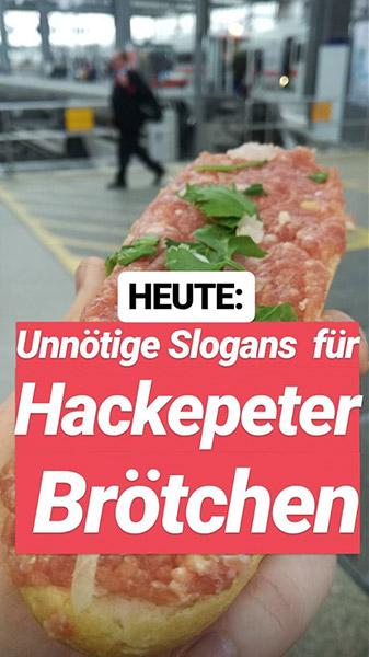 Slogans & Wortspiele mit Mett |Johannes Ulrich Gehrke