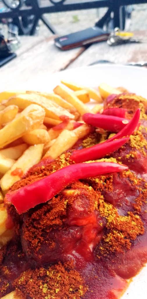 Die schärfste Currywurst in Augsburg |Johannes Ulrich Gehrke