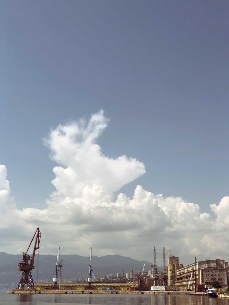 Industriehafen von Rijeka |Johannes Ulrich Gehrke