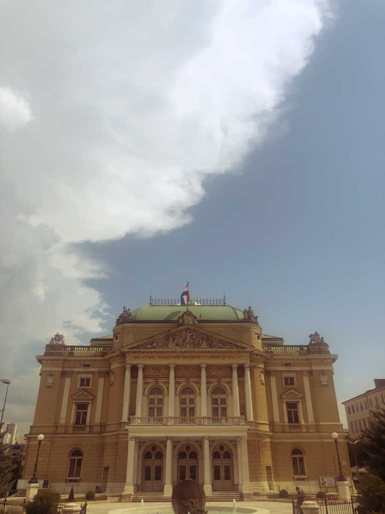 NAtional Theater von Rijeka | Johannes Ulrich Gehrke