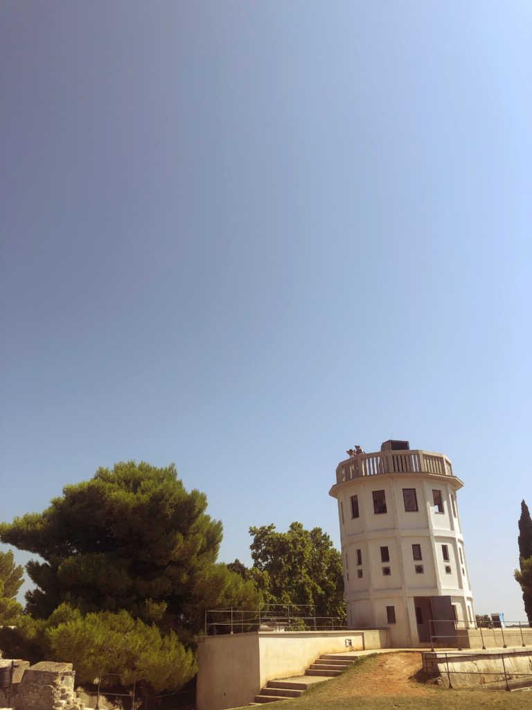 Turm auf dem Castillo von Pula |Johannes Ulrich Gehrke