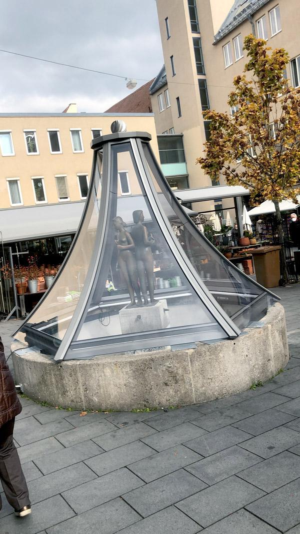 Brunnen am Augsburger Stadtmarkt |Johannes Ulrich Gehrke