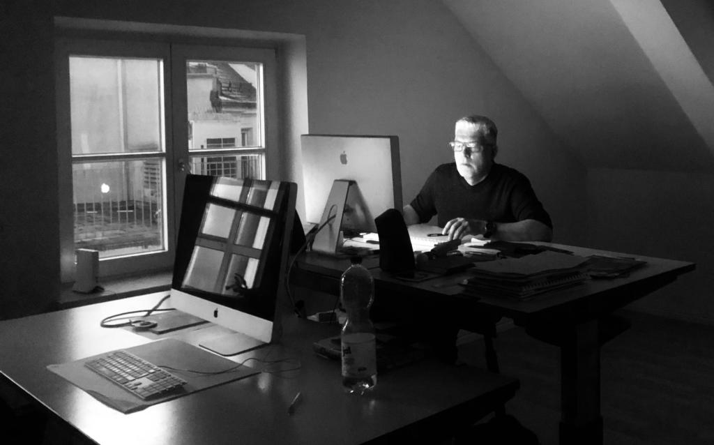 Mann im Dunkeln |Johannes Ulrich Gehrke
