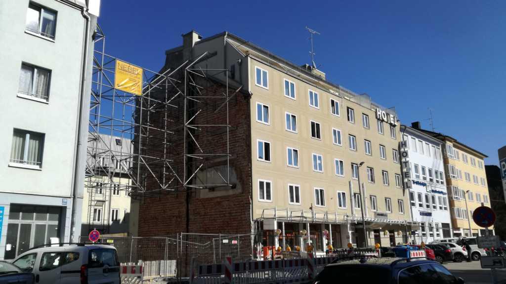 Stadtbild geprägt von den Sparmaßnahmen vor der Wiedervereinigung |Johannes Ulrich Gehrke