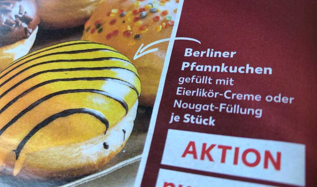 Krapfen nach Berliner Pfannkuchenart zum kreppeln |Johannes Ulrich Gehrke