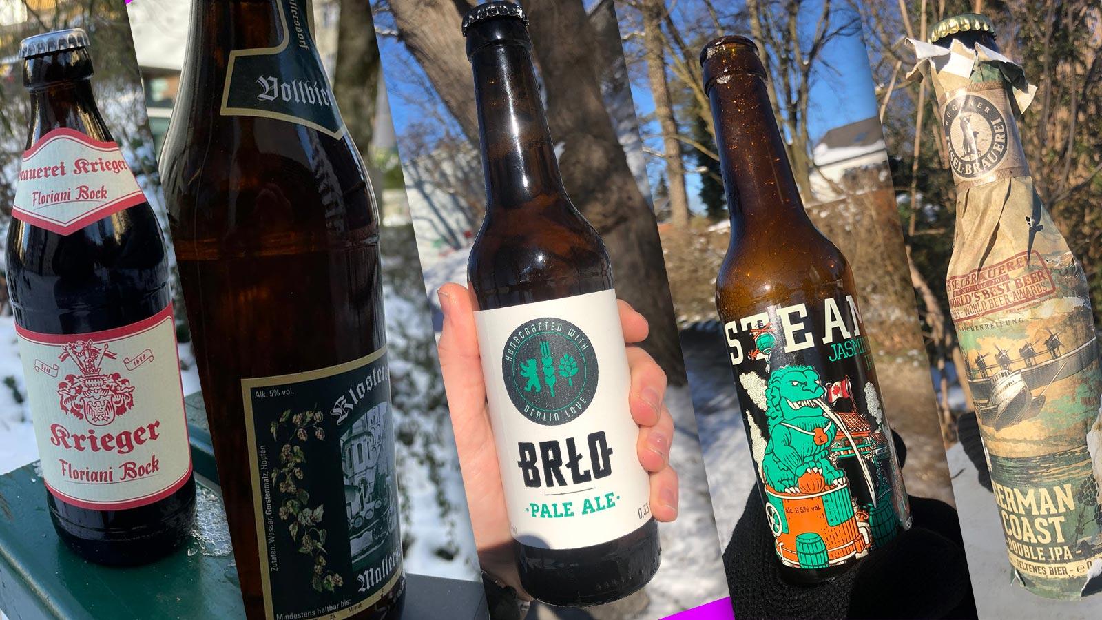 Jetzt wirds wild – sind das Craft Biere? |Johannes Ulrich Gehrke