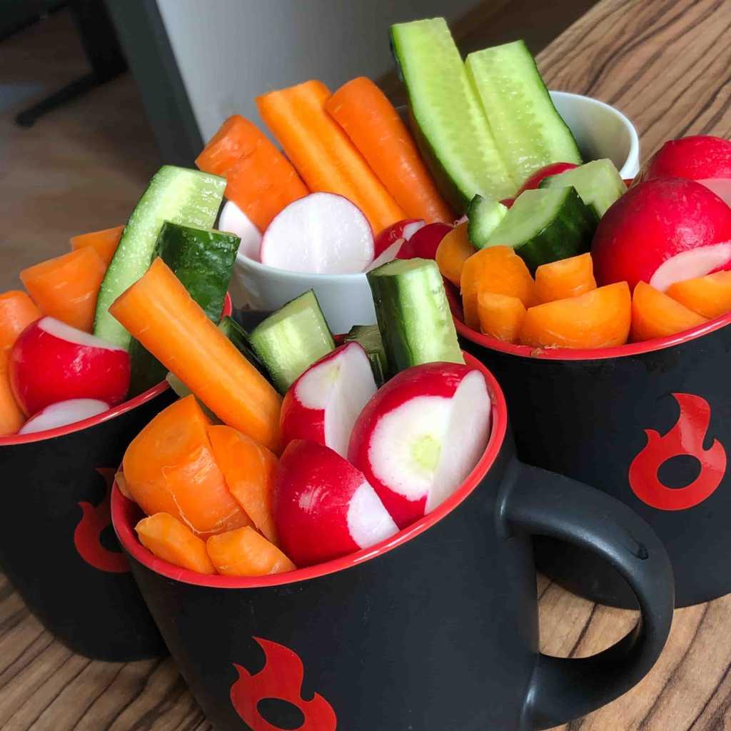 Gesunder Tagesstart-Snack aus Gemüse – Rohkost |Johannes Ulrich Gehrke